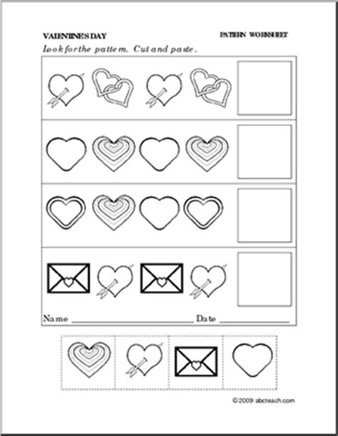 valentine printable worksheets for preschool 7 best images of valentine s free printable cutting