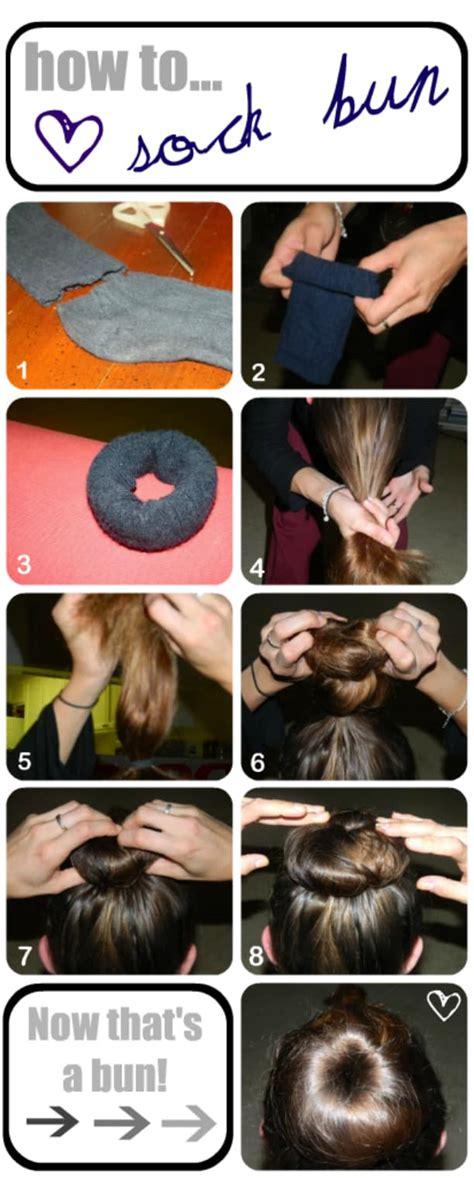 how to sock bun