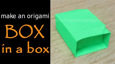 Make An Origami Box - make an origami box in a box akiko yamanashi