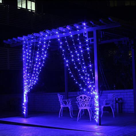 outdoor led icicle christmas lights christmas outdoor decoration 3m x 1m curtain icicle string