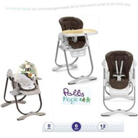 chaise chicco polly magic 3 en 1 chicco chaise haute 3en1 polly magic tobacco achat vente