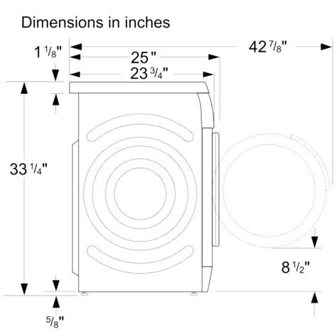 standard washer and dryer depth washer dryer cabinet enclosure washer and dryer