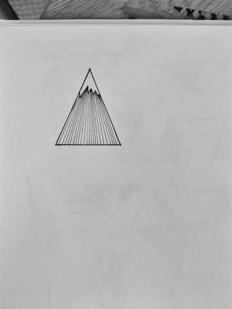 minimalist mountain tattoo best 25 simple mountain ideas on
