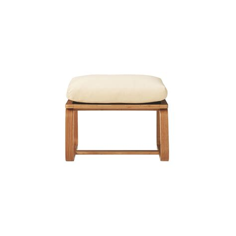 single seat bench oak wood living dining furniture muji