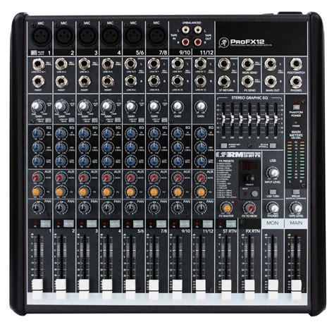 Mixer Mackie mackie pro fx12 mixer live usb mixer profx12