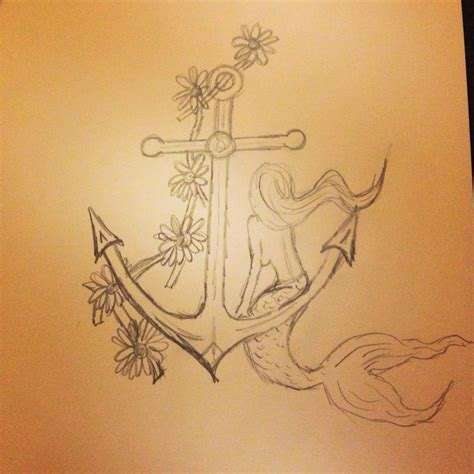 mermaid anchor tattoo best 25 mermaid anchor ideas on ankle