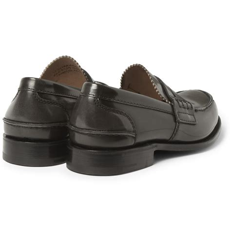 s loafers black church s sally loafers in black for lyst