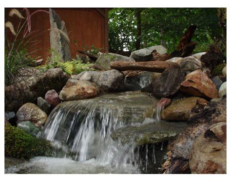 backyard waterfall kits garden stream kit 2015 home design ideas