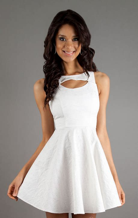 whiteazalea cocktail dresses simple  elegant white