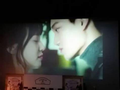 film kai exo choco bank fancam kai exo kissing scene at choco bank with park eun
