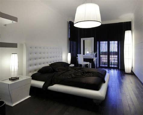 id馥 d馗o chambre noir et blanc decoration pour chambre en noir et blanc visuel 8