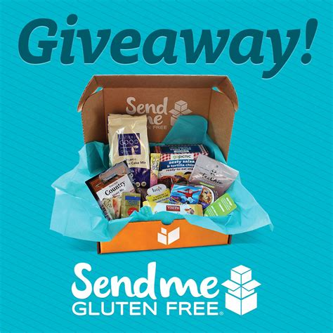 Subscription Giveaway - send me gluten free subscription box review giveaway