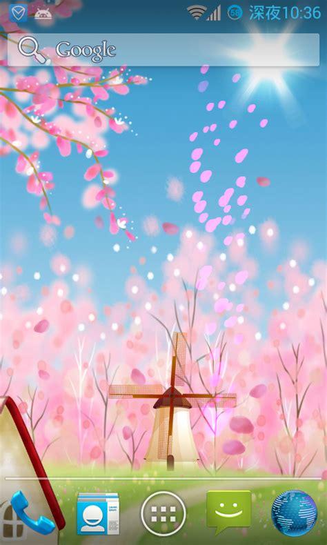 wallpaper live bunga sakura sakura live wallpaper gr 193 tis apps para android no google
