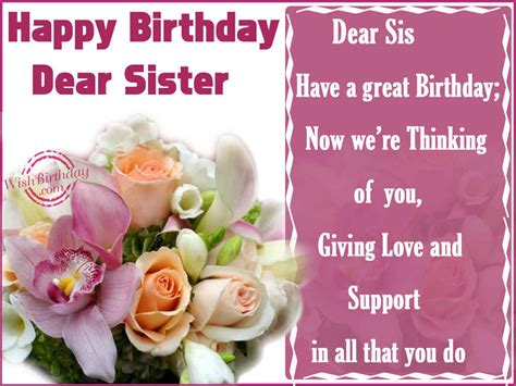 love themes sis happy birthday sister wishbirthday com