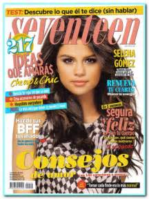Seventeen Magazine Cover Template by Selena Gomez Covers Seventeen Magazine Mexico