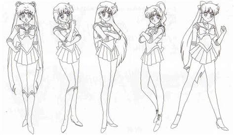 free sailor moon y darien coloring pages