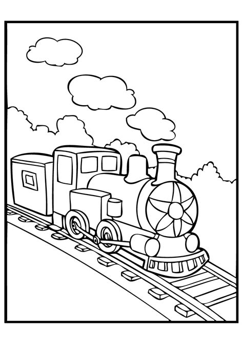 Polar Express Coloring Pages Best Coloring Pages For Kids Polar Express Color Pages