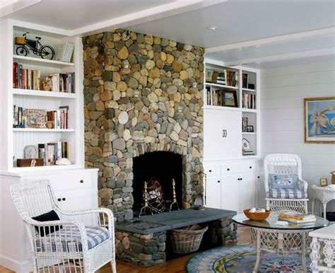 cottage style fireplace 34 beautiful fireplaces that rock