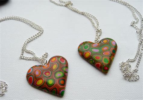 jewelry clay polymer clay necklace p designs