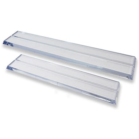 Clear Acrylic Desk Stand For Name Plates