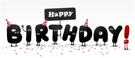 Happy Birthday Letters With Eyes Vector   Free Vector