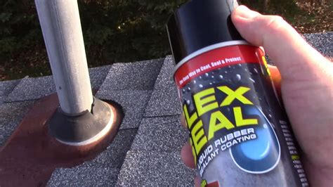 flex seal on aluminum boat using flex seal as seen on tv to prevent a roof leak