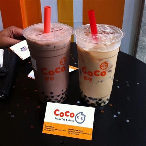 coco bubble tea coco fresh tea juice menu new york ny foodspotting