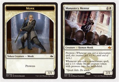 mtg cards that make tokens mtg realm fate reforged tokens