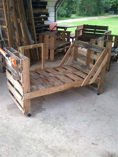 pallet toddler bed pallet toddler bed complete with bb gun rack and four toy