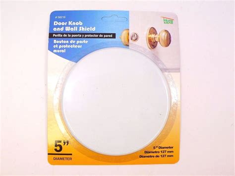 How To Fix In Wall From Door Knob by White Wall Protector Door Knob 5 Quot Cover Shield
