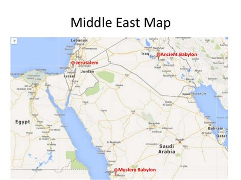 babylon and jerusalem map mecca is mystery babylon