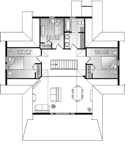 file first floor bedroom in john brown s farm jpg brown hill lake home plan 032d 0817 house plans and more