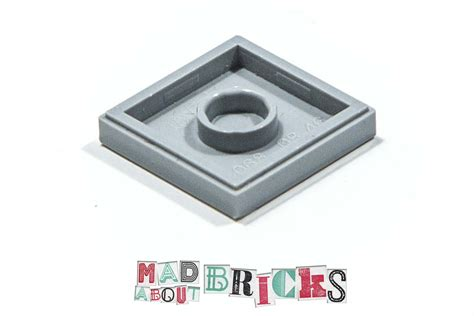 Diskon Lego Part 3068 4211413 Medium Grey Flat Tile 2 X 2 pack of 5 used lego 3068 2 215 2 flat tile 4211413 mad about