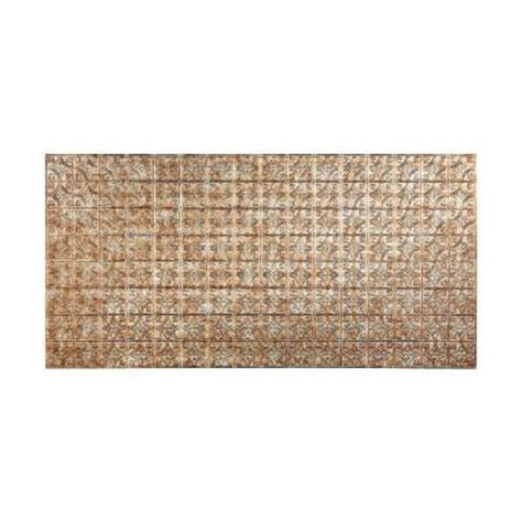 Decorative Wall Panels Home Depot Fasade 96 In X 48 In Traditional 1 Decorative Wall Panel In Bermuda Bronze S50 17 The Home Depot