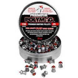Predator Safety25 predator polymag 25 cal 26 grains pointed 150ct 25 caliber pellets