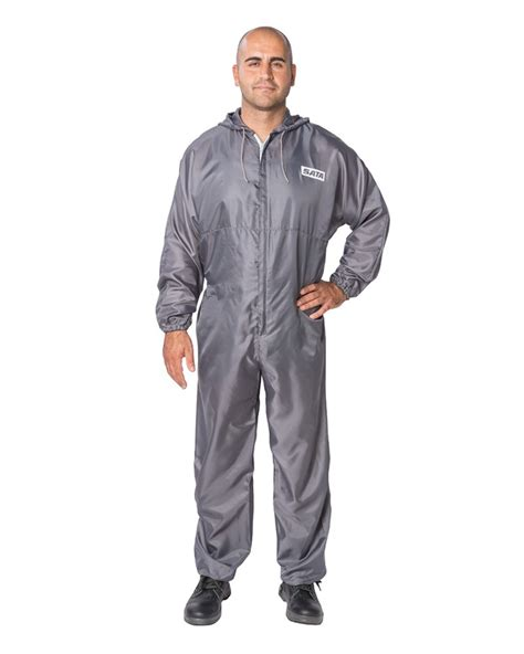 spray painter overalls sata grey paint overalls size xl
