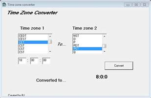 time zone converter converts time zones for you ghacks