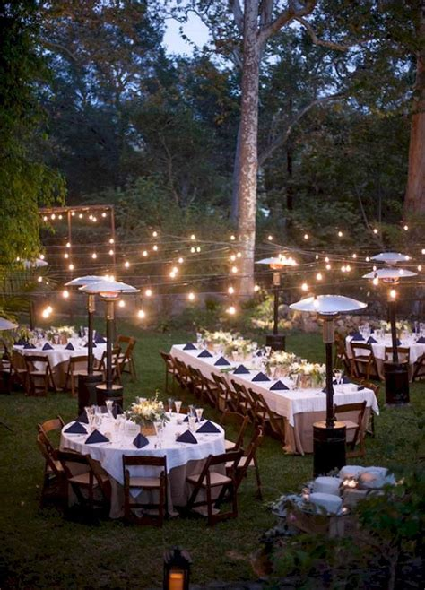 Backyard Wedding Lighting Ideas Best 25 Backyard Wedding Receptions Ideas On Pinterest Outdoor Wedding Lights Hanging Tree