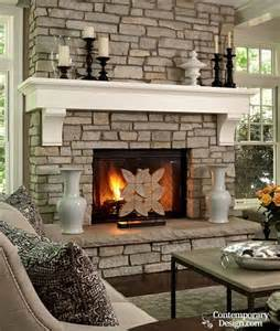 grey fireplace white and grey brick fireplaces
