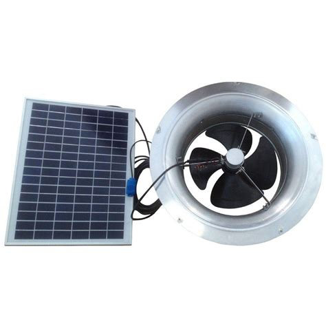 solar powered roof fan remington solar 20 watt 1 280 cfm gable mount solar