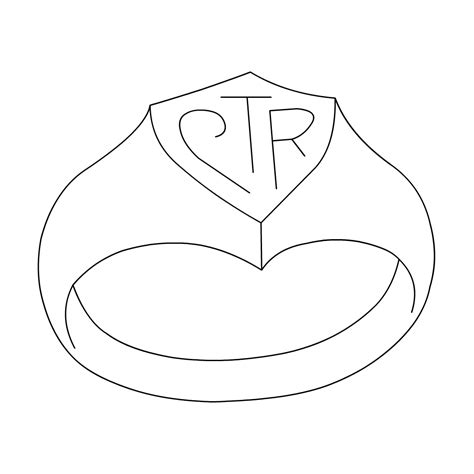 Lds Primary Clip Art My Ctr Ring Ctr Coloring Page