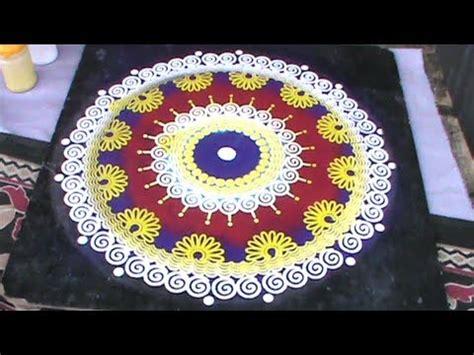 rangoli pattern youtube rangoli designs using stencil youtube