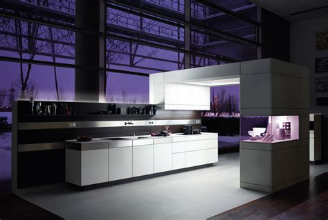 Futuristic Kitchen Designs by Cuisine De Luxe Allemande Poggenpohl Artesio