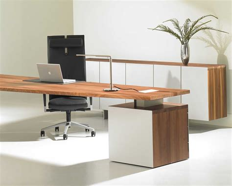 Modern Office Desk Ls by Modern Office Desks Vision Office Interiors