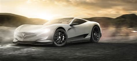 tesla roadster concept tesla hypercar pickup truck and city car rendered carwow