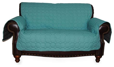 turquoise chair slipcover turquoise circle quilted water repellent couch protector
