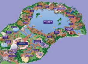Epcot World Showcase Map by About My American Adventure
