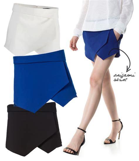 Skirt Origami - tendenze origami skirt dalle gonne di proenza schouler