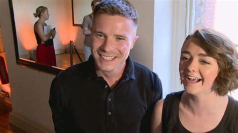 interview maisie williams arya stark and joe dempsie