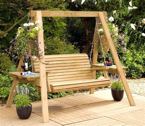 swinging benches for the garden outdoor swinging benches garden swing seat 2 3 seater hammock design 22